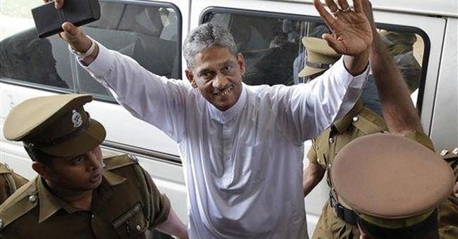 Sri Lanka grants bail for ex-army chief