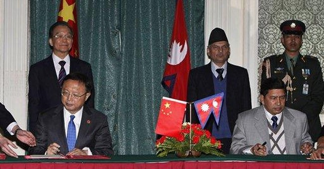 China offers $119 million in aid to Nepal