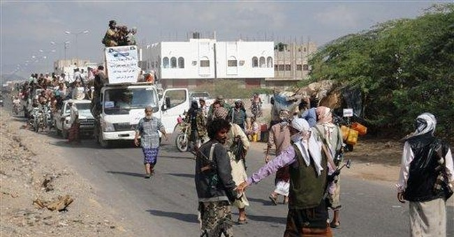 Yemenis return to area run by Islamic militants