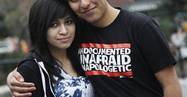 Young illegal immigrants coming out of the shadows