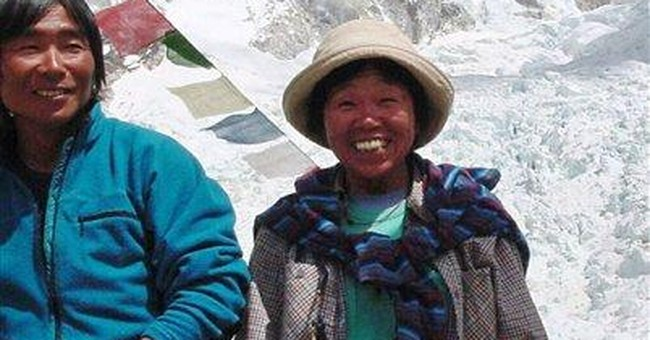 73-year-old Japanese woman scales Mount Everest