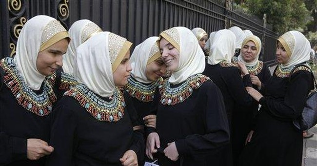 In an Egyptian orchestra, blind women shine