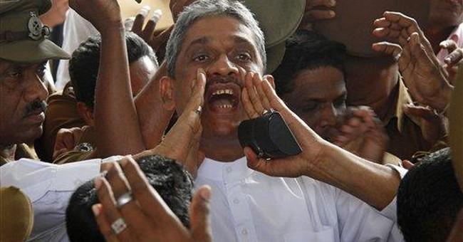 Sri Lanka set to release jailed ex-army chief