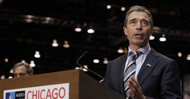 NATO chief sees financial aid for Afghan forces