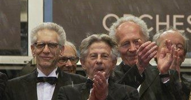 Polanski returns to Cannes, presents short