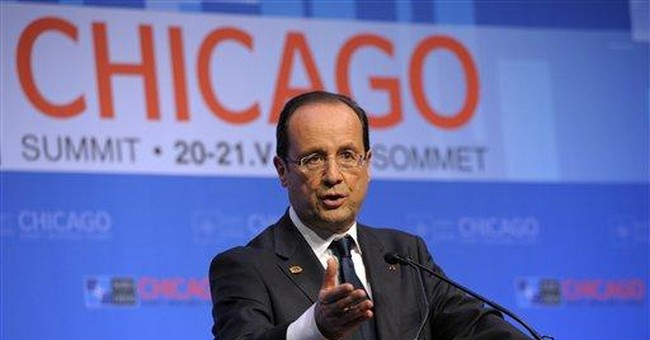 France's Hollande steals show in world stage debut