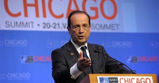 France's Hollande steals show in world stage debut