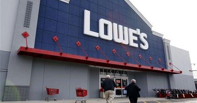 Lowe's 1Q profit up, but cuts 2012 profit outlook