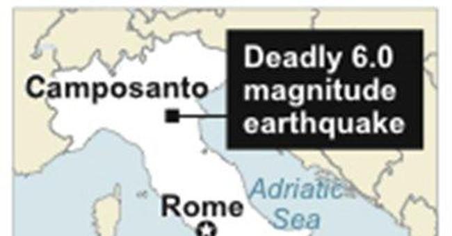 Premier inspects quake-hit Italian factories