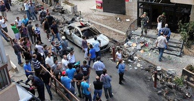 Violence in Syria spills over into Lebanon
