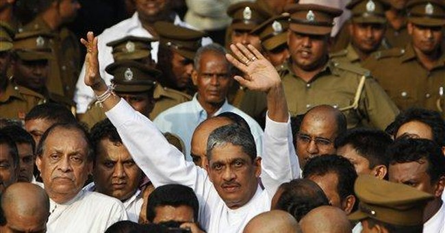 Former Sri Lanka army chief freed from prison