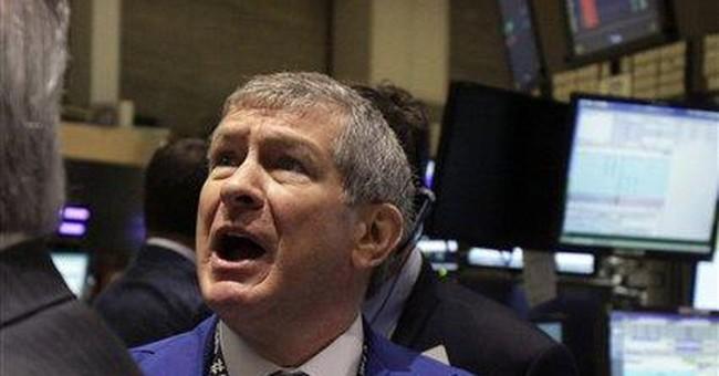 Market breaks losing streak, with China's help