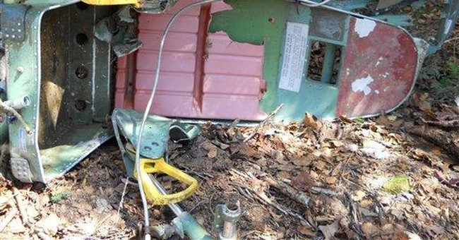 Seat from 1963 B-52 crash believed found in Maine