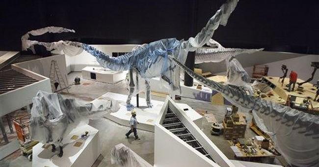 Houston museum unveils $85 million dinosaur hall