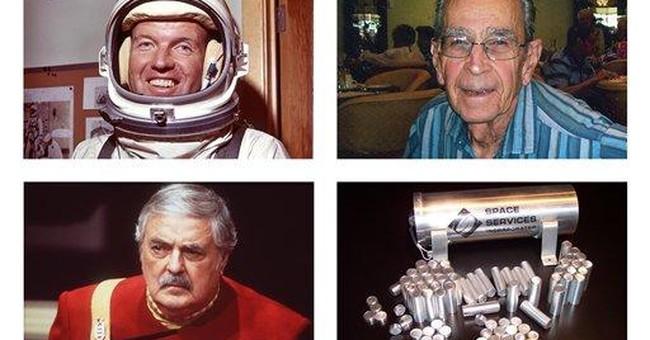 Beam them up: Ashes of 'Star Trek' actor in orbit