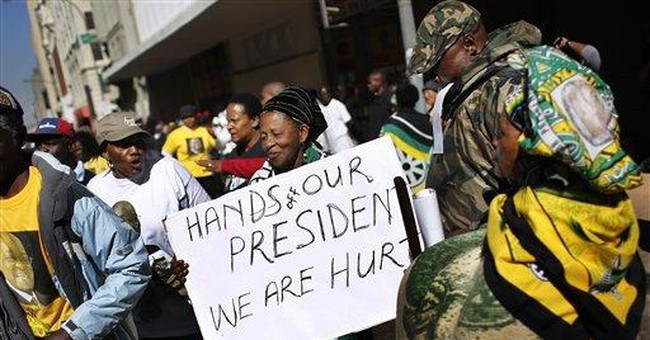 SAfrica: Zuma seeks ban on artwork; vandals hit