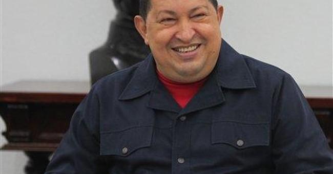 Hugo Chavez back on television in Venezuela