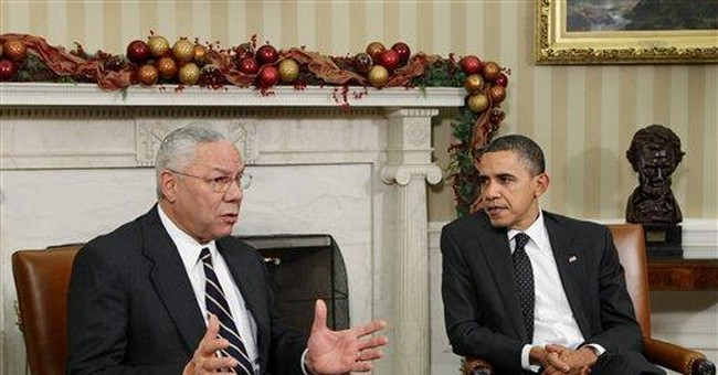 Powell not ready to endorse Obama for re-election