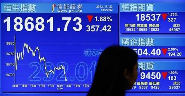Europe's stocks hit on EU summit skepticism