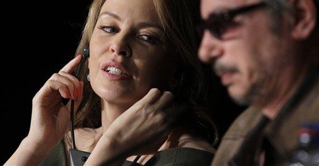 Kylie Minogue at Cannes in bizarre 'Holy Motors'