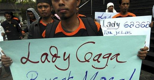 A ball of one? Lady Gaga unsure of Indonesia show