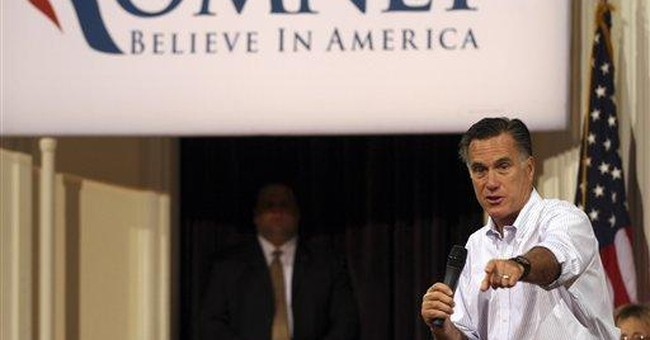 Primary sweep has Romney 1 win from GOP nomination
