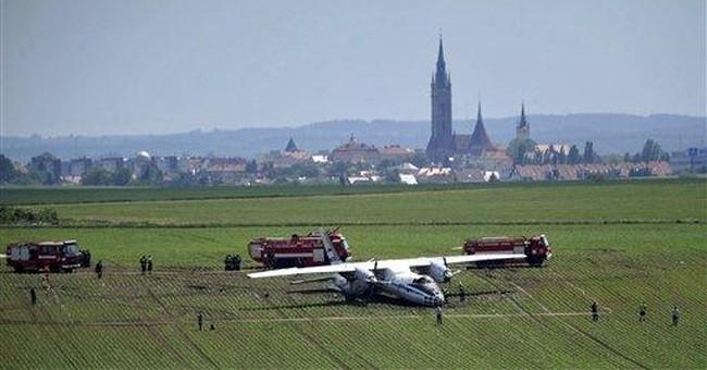 Russian jet crash in Czech Republic injures 6