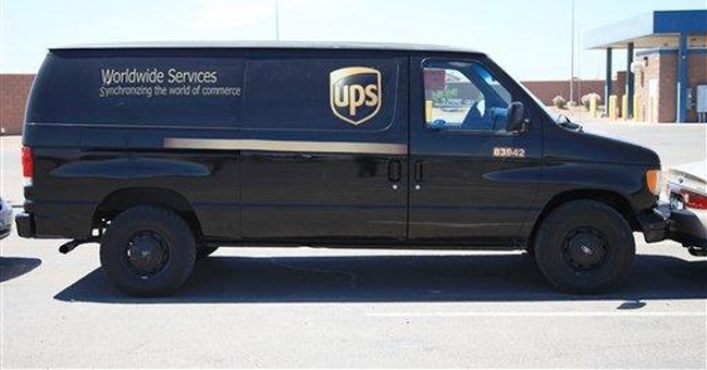 Illegal immigrants arrested in phony UPS van