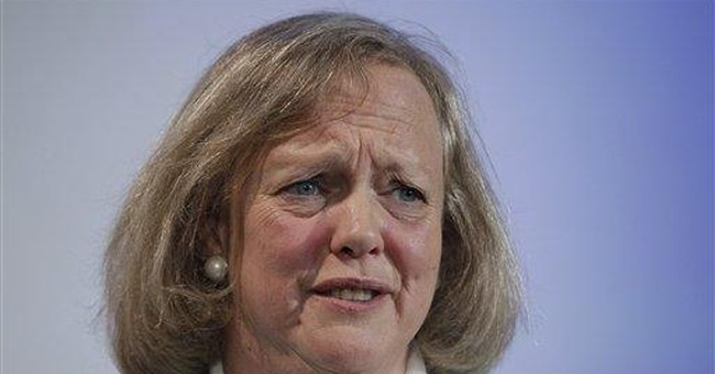 Major decisions under new HP CEO Meg Whitman