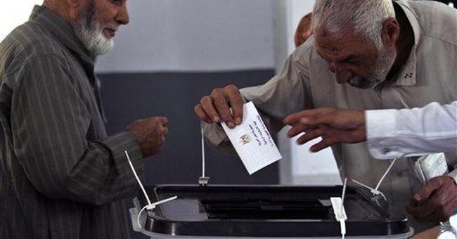 Eager Egyptians hold landmark presidential vote