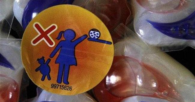 Doctors report rise in kids eating detergent packs
