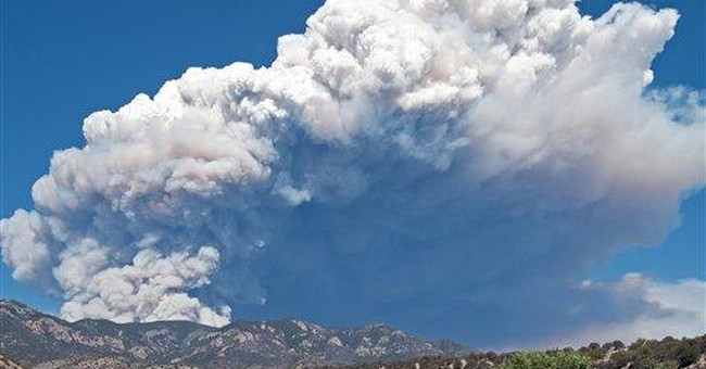 Wildfire destroys 12 homes in southwestern NM