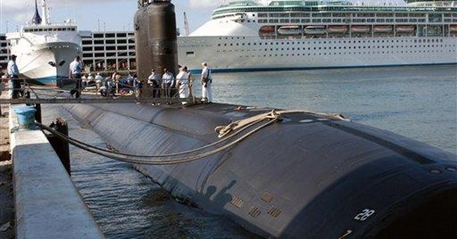 Navy begins assessing fire-damaged sub