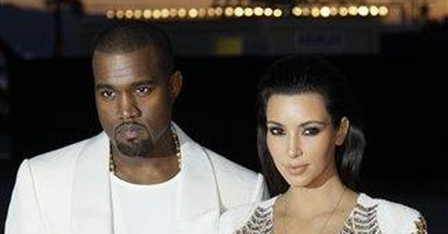 It's Kanye and Kim Kardashian in Cannes