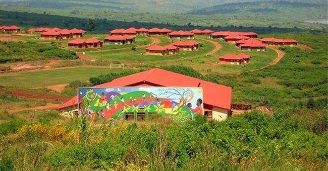 Rwandan orphans find hope in village