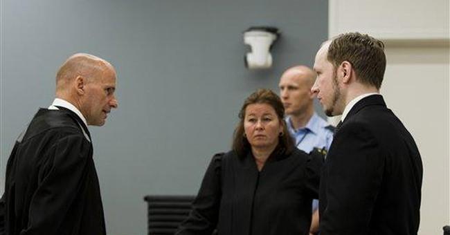 Norway gunman won't appeal case if found sane