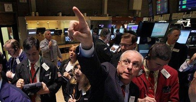 H-P leads Dow to its fourth day of gains in May