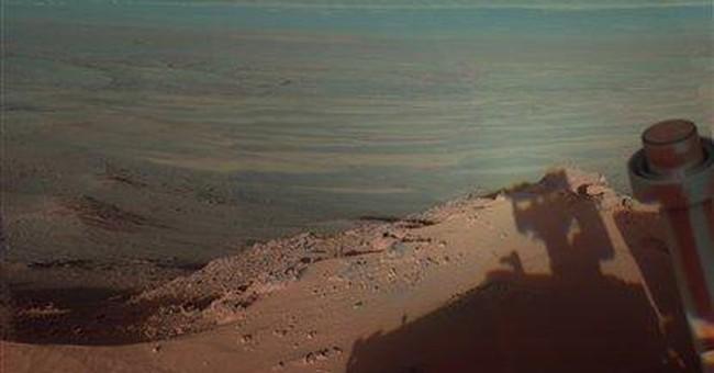 Say cheese! NASA Mars rover photographs own shadow