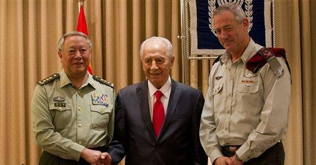 Israel steps up security ties with China