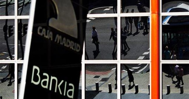 Spain's Bankia asks for $24B in state aid