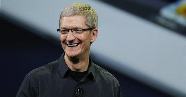 Apple CEO Cook gives up $75M in stock dividends