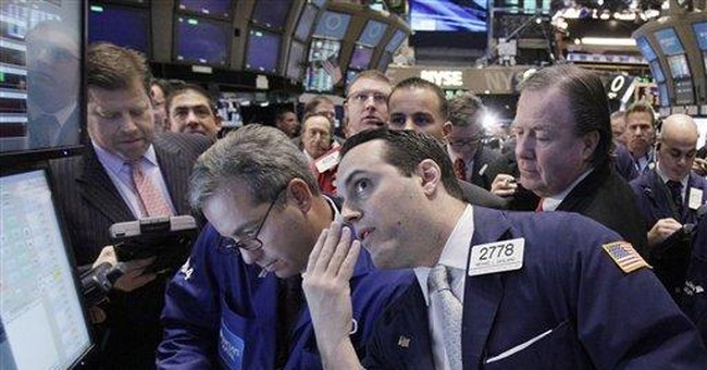 Stocks fall on Wall Street as Spanish bank teeters