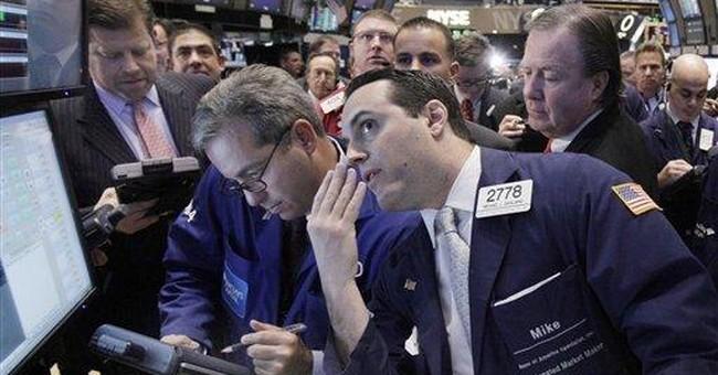 Stocks fall on Wall Street as Spanish bank teeters