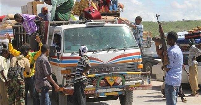 AU, Somali forces capture town outside Mogadishu