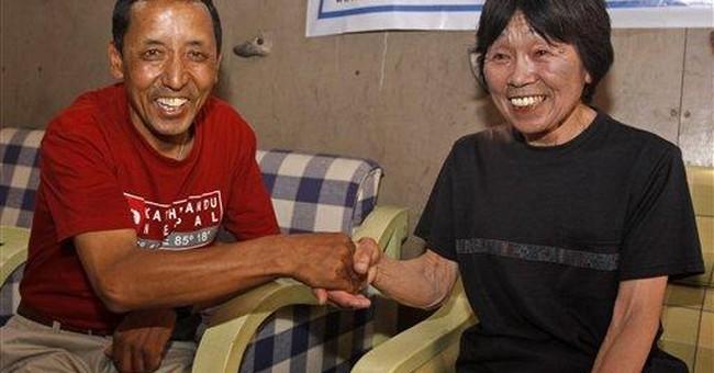 Climber, 73, finally felt old at summit of Everest