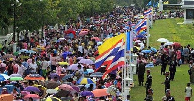Thai king makes 1st trip outside Bangkok in years