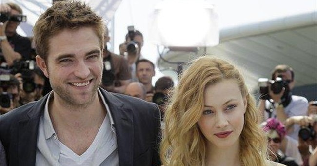 "Robert Pattinson all grown up in ""Cosmopolis"""