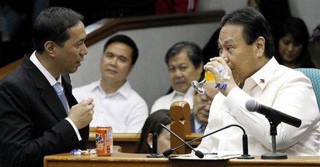Top Philippine judge says he didn't declare $2.4M