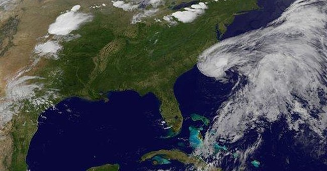 Tropical storm warnings for Southeast coast