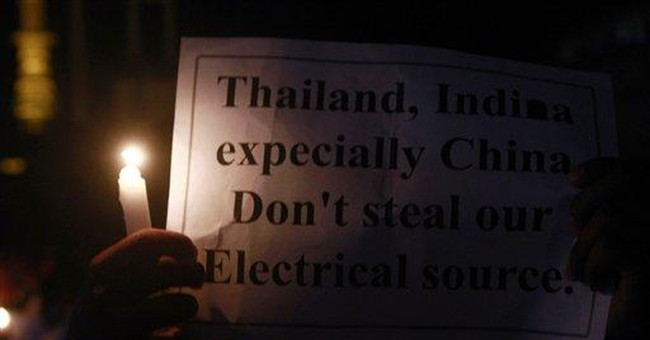Myanmar power protests put new reforms to the test